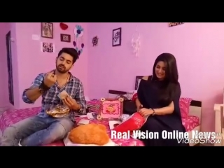 Adiza_avneil_zain aditi gifts segment part 1 exclusive real vision online news.mp4