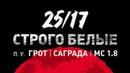 25/17 • 25/17 п.у. Грот, Саграда, МС 1.8 Строго белые (Солнцу навстречу 2016)