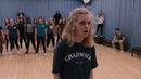 Early rehearsal of IN from Chadwick's production of Carrie the musical