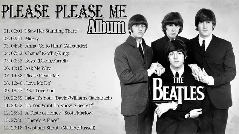 The Beatles - Please Please Me Full Album