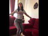 Танцует иранская гимнастка