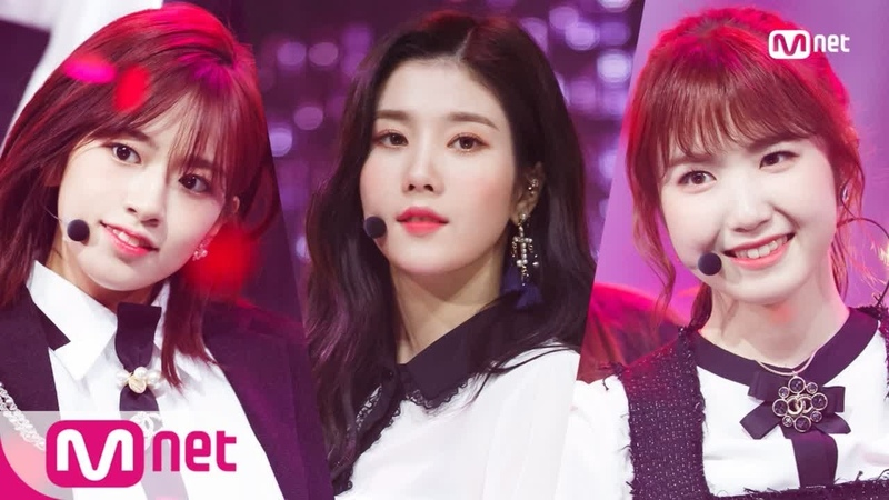 181108 M COUNTDOWN: IZ*ONE - La Vie en Rose