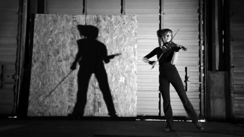 Lindsey Stirling (Линдси Стирлинг) - ТЕНИ Танцующая скрипачка.mp4