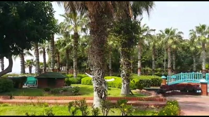 Парк в Алании. Пляж Клеопатра