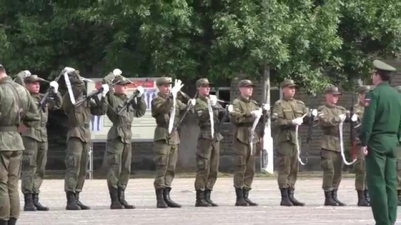Слет солдатских матерей. Учебный центр связи РВСН в/ч 74400