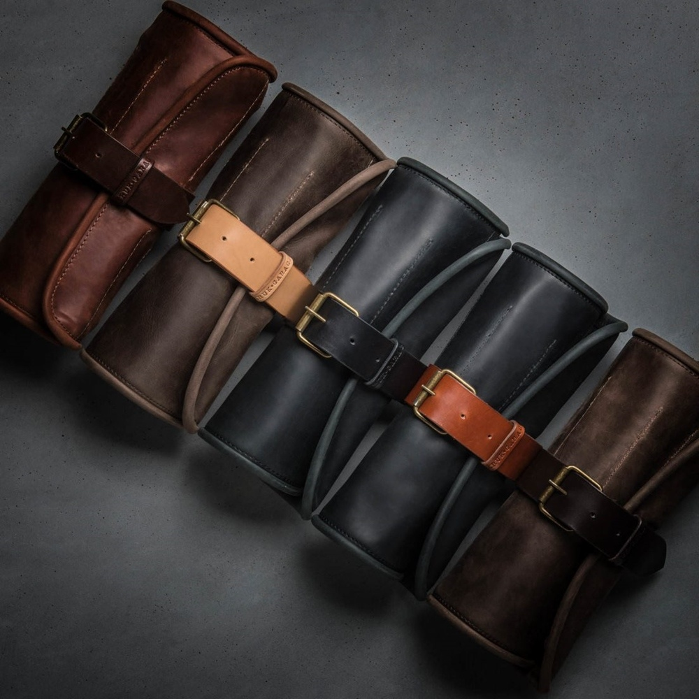 Kruk Garage: кожаная скрутка для инструмента