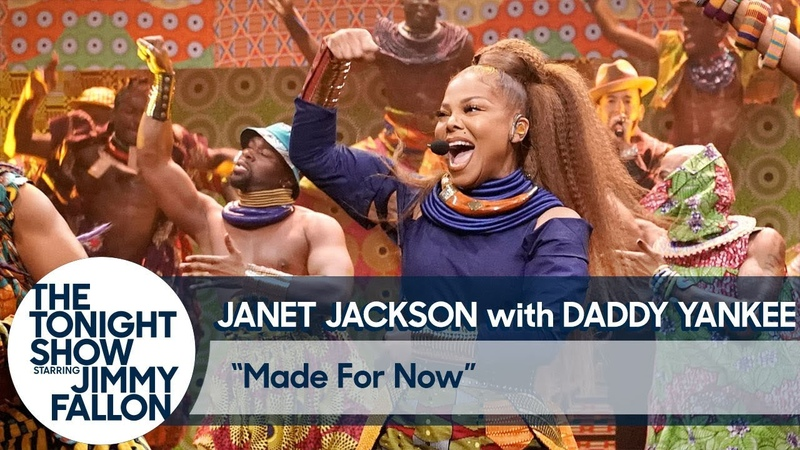 Janet Jackson Debuts Made for Now with Daddy Yankee in a Massive Performance
