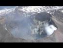 Кратер вулкана Карымский 21.06.2018