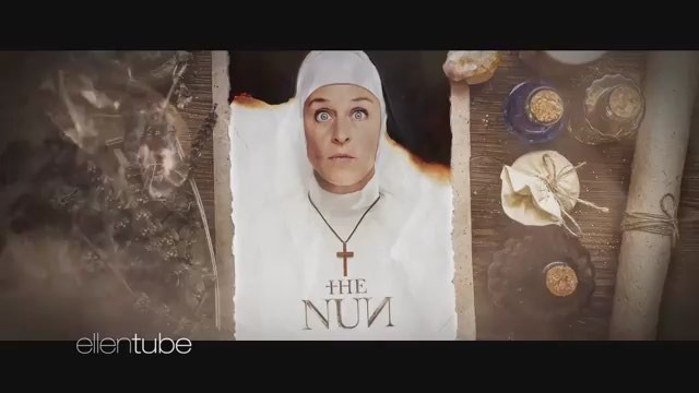 "The Nun on Instagram: ""Repost from @theellenshow: EXCLUSIVE: The new The Nun trailer – Viewer Discretion Advised!"""