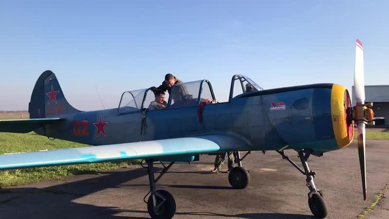 Полет ЯК-52
