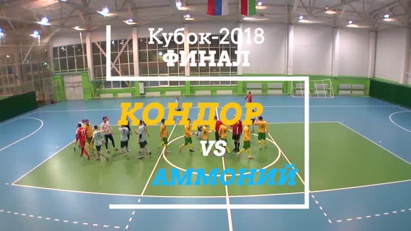 Видеообзор Кубок-2018 Финал Кондор-Аммоний