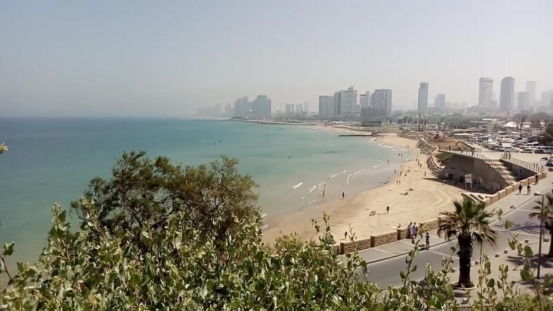Яффо. Вид на море и Тель-авив.