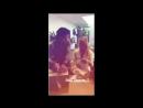 Инстаграм история Джона Термини видео с Клэр Холт