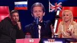 Русский мальчик покорил британское шоу Голос Дети, а на 1 канал его не оценили и вырезали из эфира