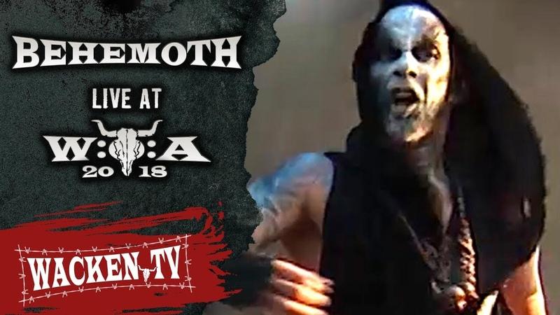 Behemoth Wolves ov Siberia Live at Wacken Open Air 2018