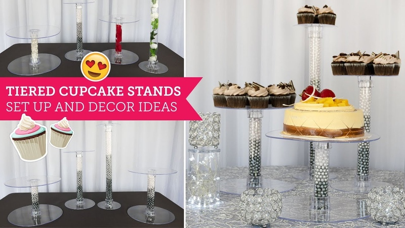 Tiered Cake Stand Set Up Decor Ideas 🍰 | BalsaCircle.com
