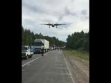 Боевые самолеты садятся на трассу в Хабаровском крае