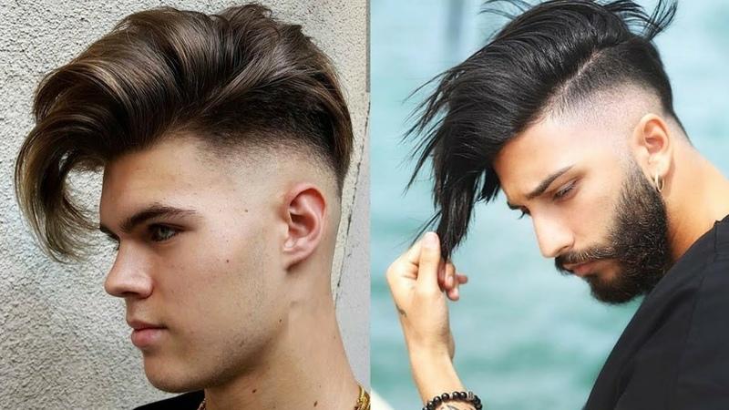 CORTES E PENTEADOS FRANJA MASCULINA Melhores Fades de Inspirações Cabelos News Haircuts 2018