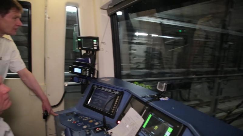 Запуск пробного поезда 24.04.2018