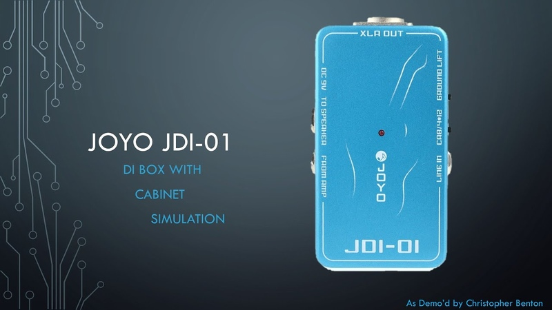 Joyo JDI-01 DI Box with Cabinet Simulation