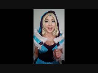 Aigera Dunamis as Crystal Maiden (Cosplay)