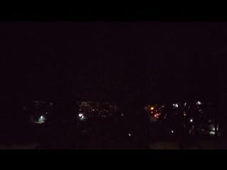 Калуга. Дворец спорта. Ночные строительные работы
