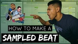 The BEST way to make a SAMPLED hip hop beat