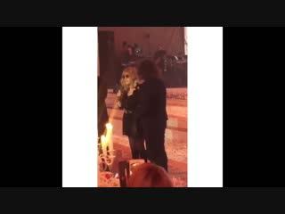 Леонтьев и Пугачева на юбилее жены Крутого