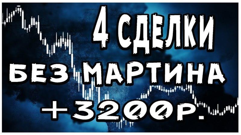 Торгую без МАРТИНА | 3200р. за 10 минут | Лучшая стратегия для торговли на бинарных опционах