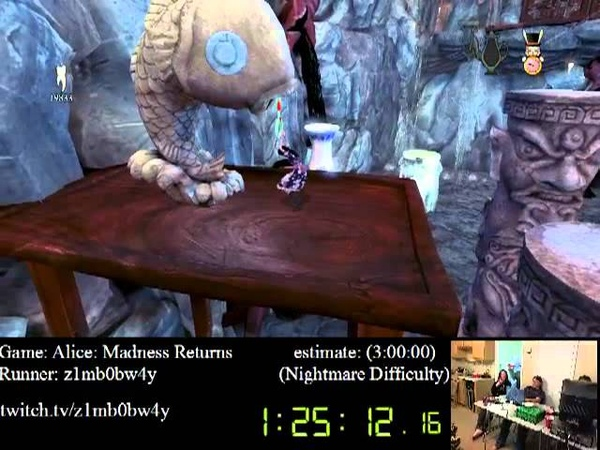 Alice: Madness Returns in 2:59:21 (PC) - SPEED RUN - Nightmare by z1mb0bw4y - SGDQ 2012