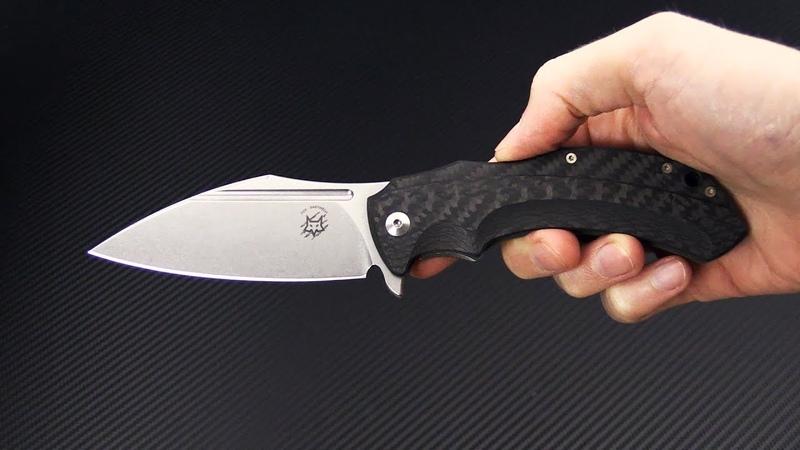 Нож складной Fox Knives Bastinelli Shadow Titanium FX-533 CF