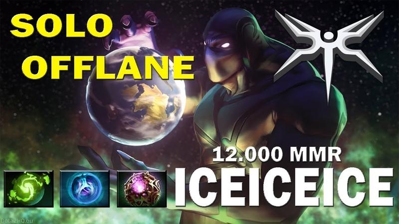 12k MMR iceiceice Solo Offlane Enigma | айсайсайс играет на Энигме | Dota 2 TOP MMR
