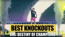 ONE: DESTINY OF CHAMPIONS Highlights | Best KOs Submissions