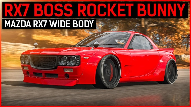 NEW RX7 BOSS ROCKET BUNNY Forza Horizon 4