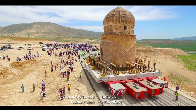 Hasan keyif Zeynel bey Türbesi Taşıma Projesi
