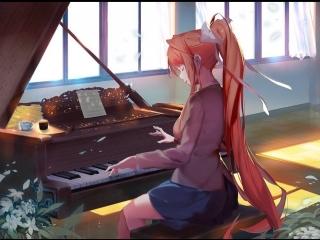 Песня Моники | Doki-Doki Literature Club | Тук-Тук Литературный Клуб | DDLC