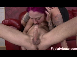 Beat Figorously [Anal, Blowjob, Cumshot, Deep Throat, Facial, Facial Abuse, MMF, Redhead, Threesome, Whore]