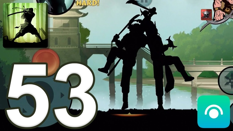 Shadow Fight 2 - Gameplay Walkthrough Part 53 - Interlude: Act 3 (iOS, Android)