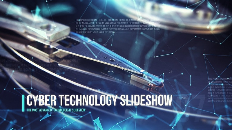 Cyber Technology Slideshow (After Effects Template)