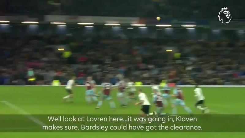 Klavan with a last minute winner vs Burnley! What an ending this was 🔥 LFC