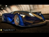 Lightning fast and sneaky silent, the Pegassi Tezeract Supercar is the automobile evolved.