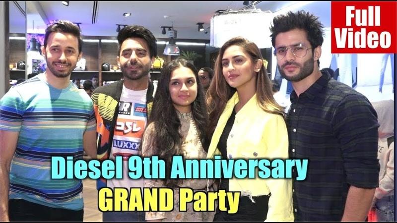 Aparshakti Khurana Celebrates 9 Years of Diesel with TV Stars | Krystle DSouza | Planet 9