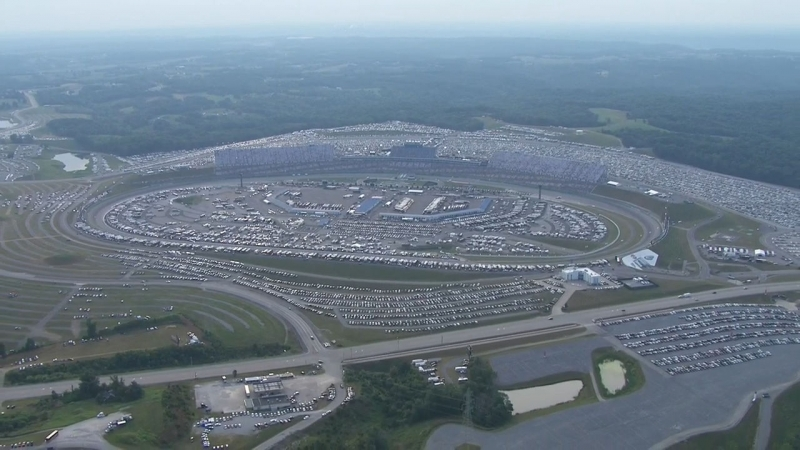 Chopper Camera - Kentucky - Round 19 - 2018 Monster Energy NASCAR Cup Series