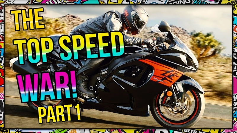 The Motorcycle Top Speed War of Japan - PART 1