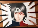 Speed Drawing - Sasuke Sarada Uchiha (Boruto - Naruto Next Generation) [HD]