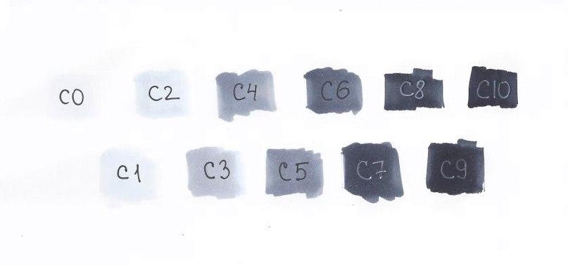 маркеры для скетчинга, палитра маркеров, набор маркеров