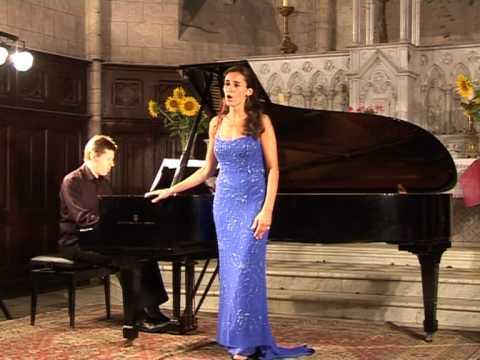 Puccini Mi chiamano Mimi Verene Andronikof Soprano, Thierry Huillet Piano