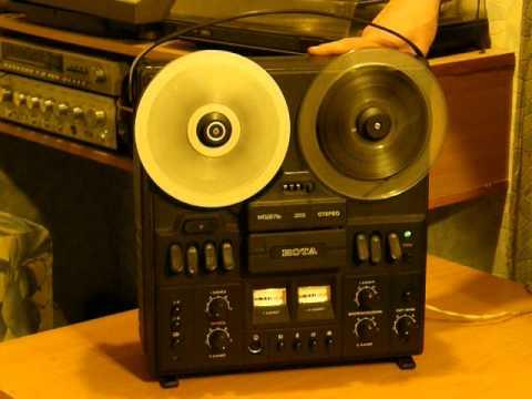 Магнитофон-приставка НОТА-203 в работе Recorder set-top NOTA 203