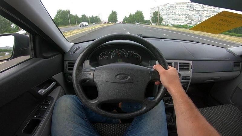 2012 LADA Priora 1.6L POV Test Drive