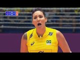 Brazil v Serbia — Full Highlights | 2018 Volleyball Nations League Womens